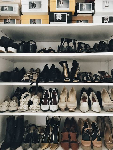 Footwear, Product, Brown, Shoe store, Shoe, Retail, White, Style, Collection, Light,