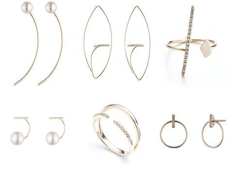 Metal, Jewellery, Natural material, Body jewelry, Circle, Earrings, Silver, Chain, Nickel, Platinum,