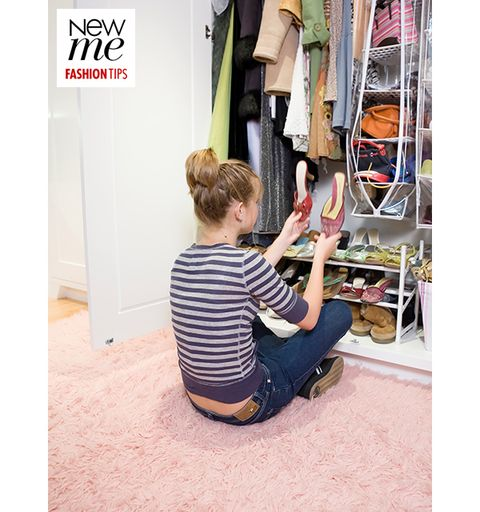 Closet, Flooring, Clothes hanger, Bag, Wardrobe, Retail, Shelving, Shelf, Banner, Curious,