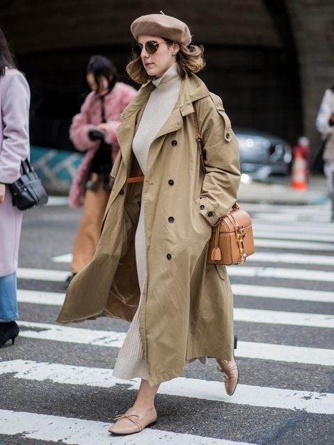 Clothing, Footwear, Leg, Brown, Road, Trousers, Infrastructure, Street, Bag, Coat,