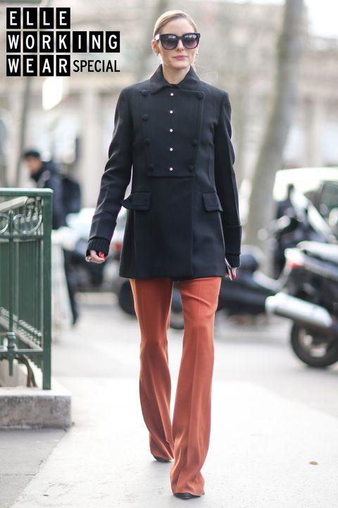 Clothing, Street fashion, Black, Fashion, Suit, Snapshot, Fashion model, Formal wear, Outerwear, Footwear,