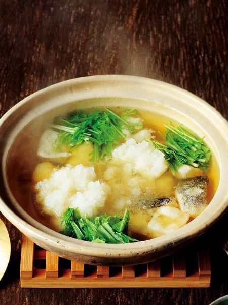 揚げたらのみぞれ鍋 のレシピ・作り方|ELLE gourmet [エル・グルメ]