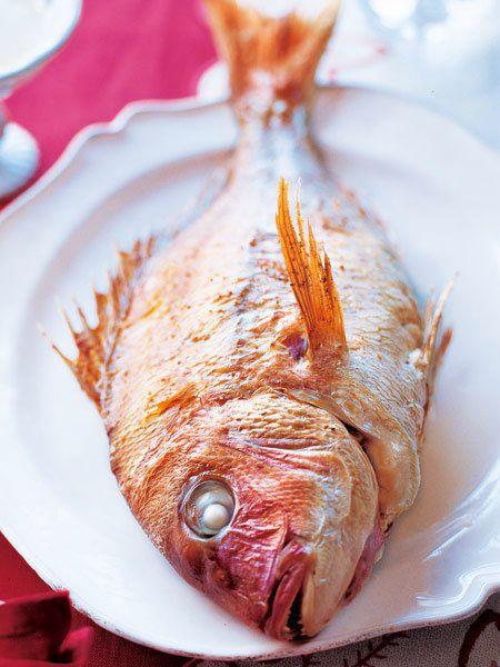 鯛のファルシ のレシピ・作り方 ELLE gourmet [エル・グルメ]