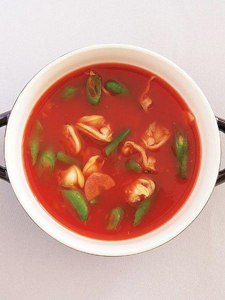 あさりのトマトスープ のレシピ・作り方 ELLE gourmet [エル・グルメ]