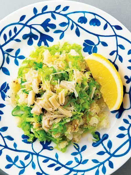 春キャベツたっぷりのポテトサラダ のレシピ・作り方|ELLE gourmet [エル・グルメ]