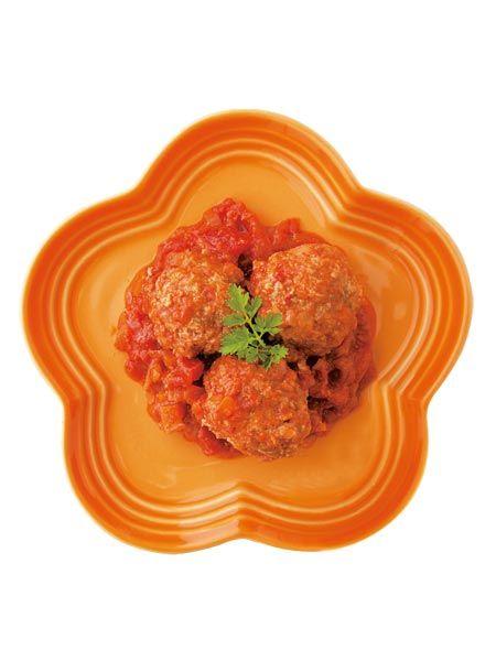 肉団子のトマトソース煮 のレシピ・作り方|ELLE gourmet [エル・グルメ]