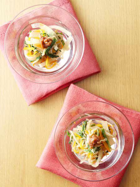 切干大根のホットサラダ のレシピ・作り方 ELLE gourmet [エル・グルメ]