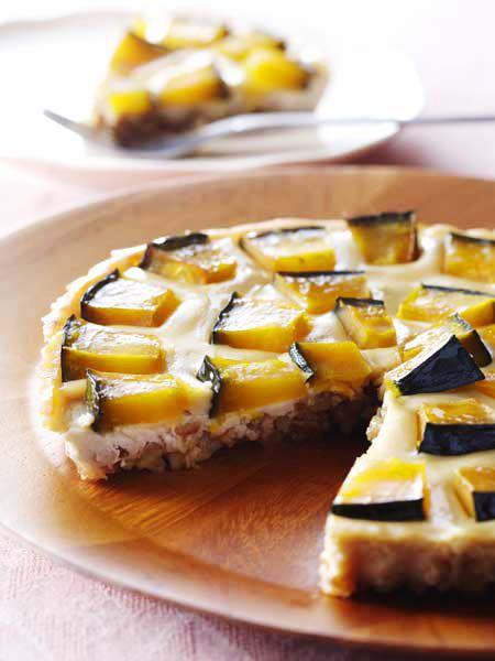 かぼちゃと豆腐のケーキ のレシピ・作り方|ELLE gourmet [エル・グルメ]