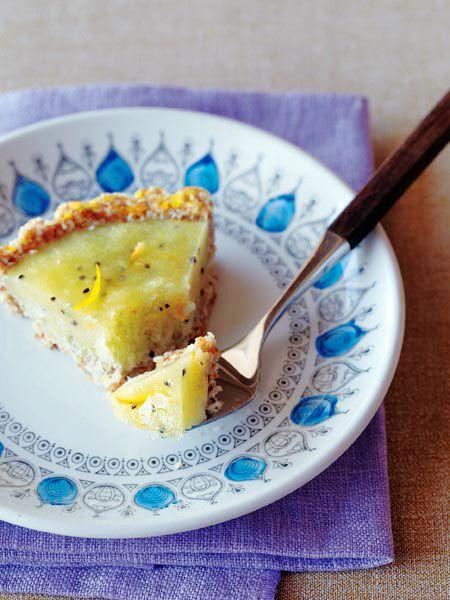 洋梨とキウイフルーツのフローズンタルト のレシピ・作り方|ELLE gourmet [エル・グルメ]