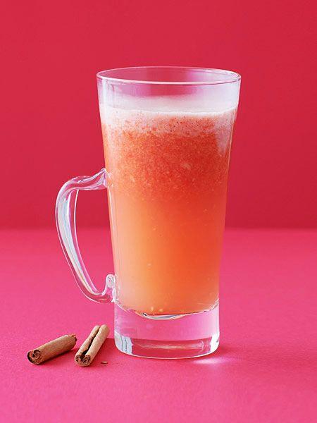 冷え性改善!しょうが&トマトのホットジュース のレシピ・作り方|ELLE gourmet [エル・グルメ]