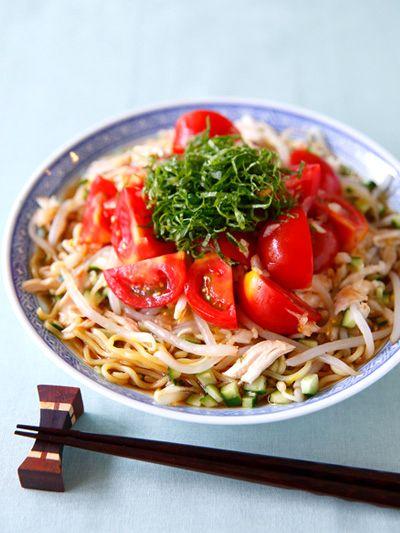 トマトの冷やし中華 のレシピ・作り方 ELLE gourmet [エル・グルメ]