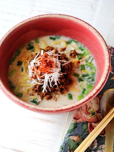 坦々麺 レシピ