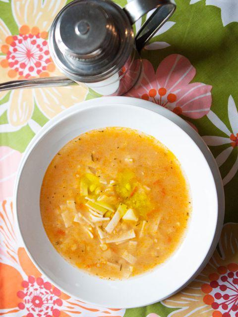 ひよこ豆とパスタのトマトスープ のレシピ・作り方|ELLE gourmet [エル・グルメ]