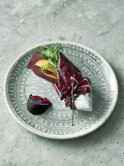 秋野菜とビーツのディップ のレシピ・作り方|ELLE gourmet [エル・グルメ]