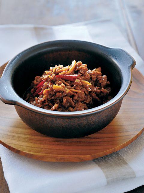 豚肉のしぐれ煮 黒酢しょうが風味 のレシピ・作り方 ELLE gourmet [エル・グルメ]
