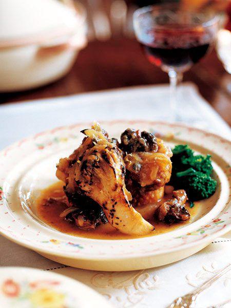 豚バラ肉とさざえ、舞茸の煮込み のレシピ・作り方|ELLE gourmet [エル・グルメ]