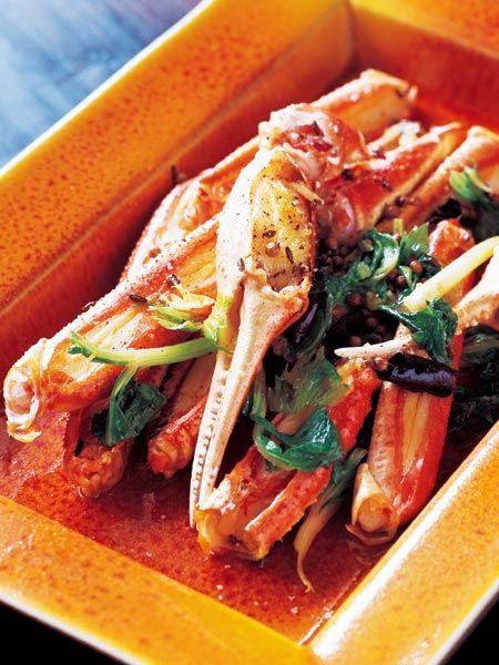 カニのインド北西部風オイル のレシピ・作り方|ELLE gourmet [エル・グルメ]