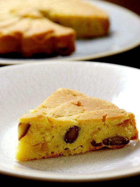 舞茸と栗のケーキ のレシピ・作り方|ELLE gourmet [エル・グルメ]