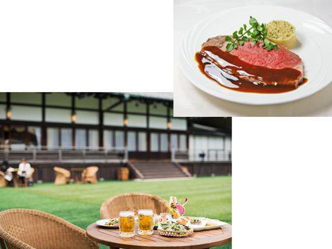 Food, Table, Cuisine, Furniture, Dish, Outdoor furniture, Condiment, Tableware, Sauces, Garnish,