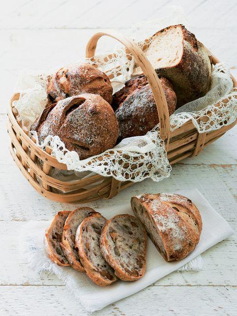 Food, Bread, Ingredient, Baked goods, Cuisine, Staple food, Finger food, Rye bread, Snack, Gluten,