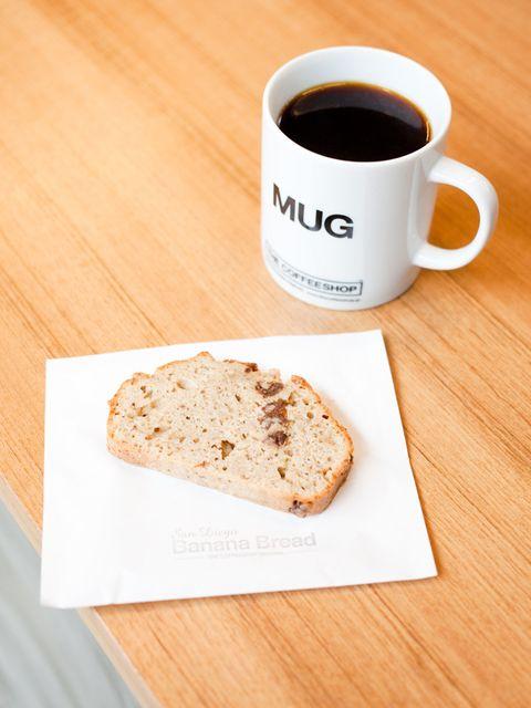 Cup, Coffee cup, Bread, Drinkware, Serveware, Food, Drink, Baked goods, Ingredient, Finger food,