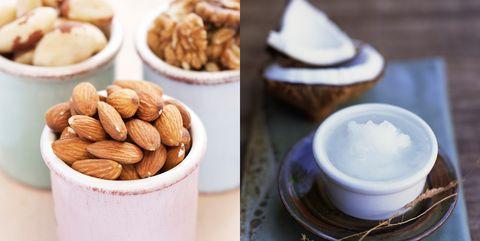 Serveware, Food, Dishware, Ingredient, Sweetness, Nut, Cuisine, Saucer, Almond, Finger food,