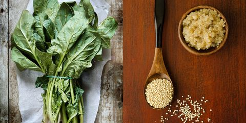 Ingredient, Leaf vegetable, Leaf, Food, Vegetable, Produce, Whole food, Kitchen utensil, Herb, Bowl,