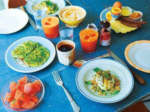 Food, Dishware, Cuisine, Tableware, Meal, Table, Ingredient, Dish, Plate, Serveware,