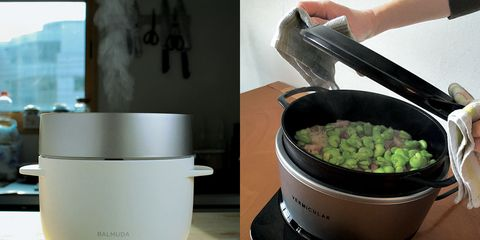 Rice cooker, Food steamer, Food, Dish, Cookware and bakeware, Cuisine, Small appliance, Comfort food, Recipe, Vegetarian food,