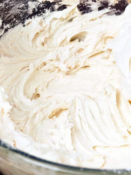 Food, Space, Dairy, Kitchen utensil, Cream, Buttercream, Bavarian cream, Paste,