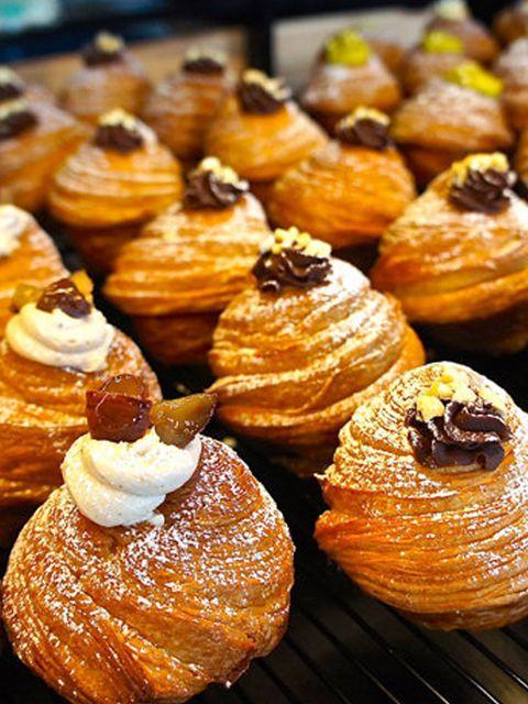 Dish, Food, Cuisine, Baked goods, Choux pastry, Dessert, Pastry, Ingredient, Pâtisserie, Danish pastry,
