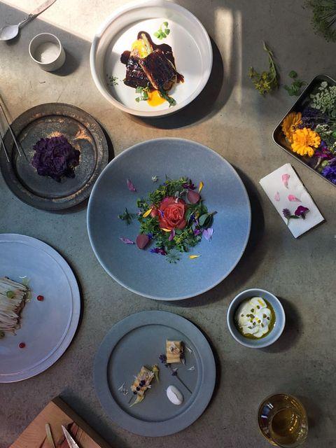 Dishware, Serveware, Purple, Tableware, Porcelain, Lavender, Violet, Plate, Ceramic, Dish,