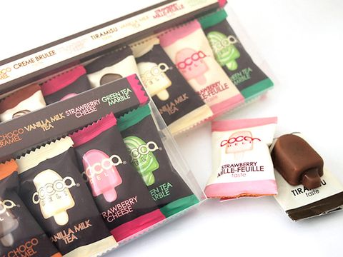 Tints and shades, Cosmetics, Material property, Chocolate, Confectionery, Dessert, Personal care, Lipstick, Label,