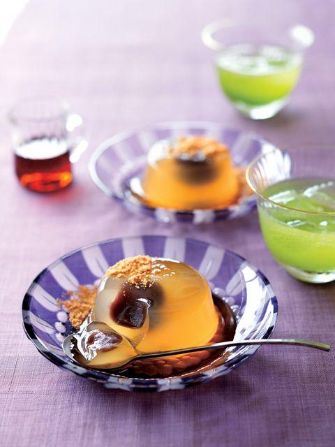 Food, Dish, Cuisine, Ingredient, Panna cotta, Dessert, Gelatin dessert, Pudding, Recipe, Produce,
