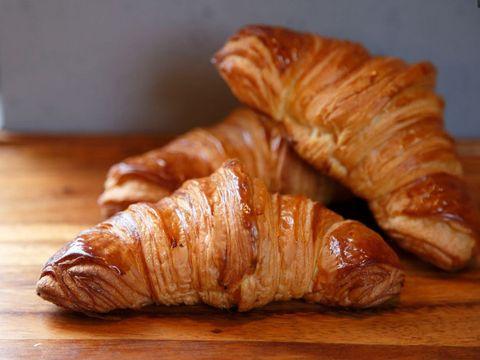Wood, Food, Hardwood, Croissant, Cuisine, Baked goods, Wood stain, Dish, Varnish, Viennoiserie,