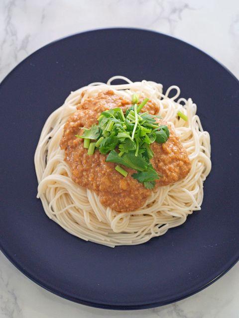 Dish, Food, Cuisine, Spaghetti, Capellini, Noodle, Ingredient, Chinese noodles, Shirataki noodles, Hot dry noodles,