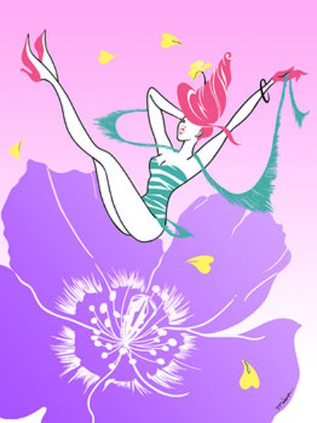 Purple, Art, Costume accessory, Violet, Graphics, Artwork, Illustration, Painting, Costume hat, Graphic design,
