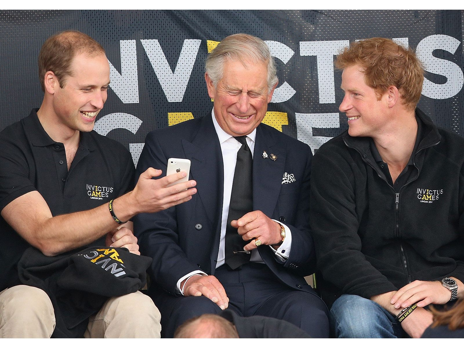 ウィリアム王子(Prince William)、チャールズ皇太子(Prince Charles)、ヘンリー王子(Prince Henry) photo   Getty Images