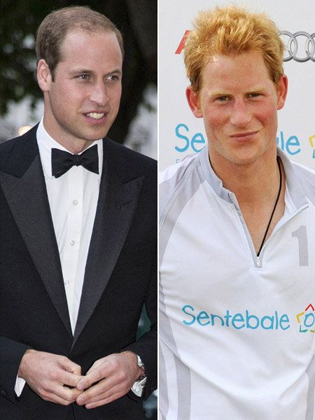ウィリアム王子(Prince William) photo : Getty Images, ヘンリー王子(Prince Harry) photo :  Getty Images for Audi