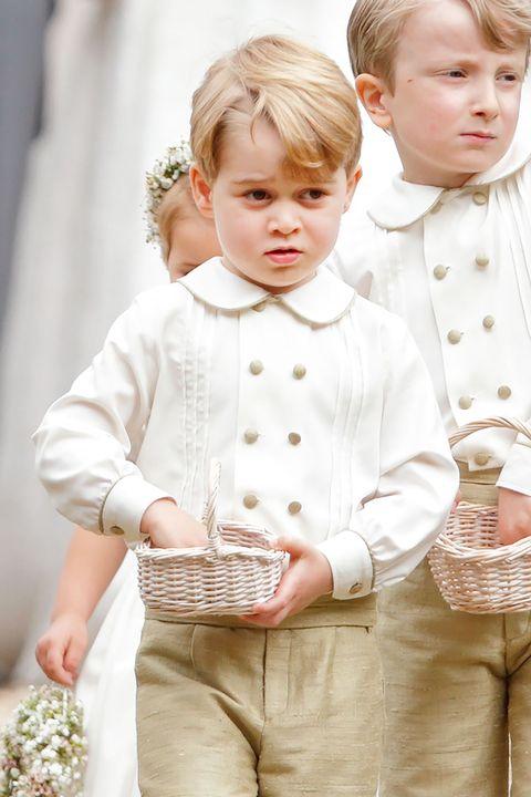 ジョージ王子 結婚式