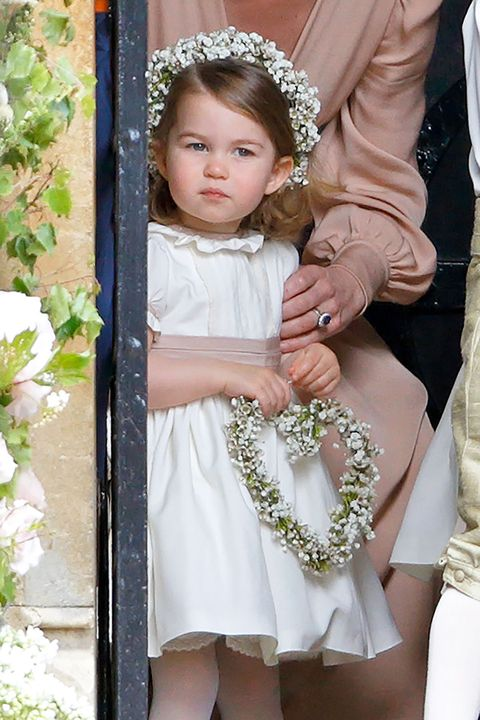 シャーロット王女 結婚式