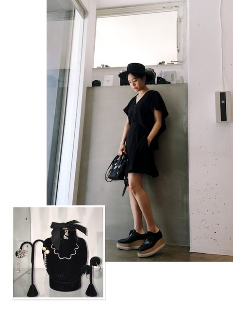 Clothing, Shoulder, Human leg, Shoe, Photograph, Joint, White, Dress, Style, Fashion accessory,