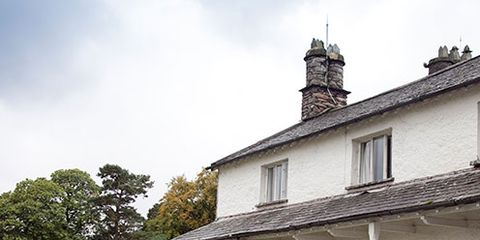 Property, House, Building, Roof, Real estate, Land lot, Fixture, Home, Door, Cottage,