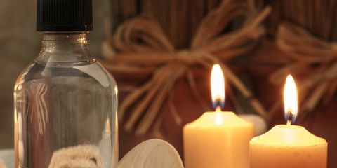 Lighting, Wax, White, Bottle, Candle, Flame, Orange, Light, Fire, Still life photography,
