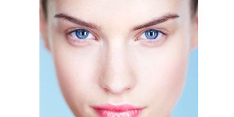Lip, Cheek, Skin, Eyebrow, Eyelash, Purple, Pink, Magenta, Violet, Beauty,