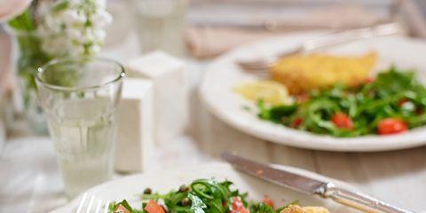 food, cuisine, tableware, dishware, ingredient, serveware, plate, dish, leaf vegetable, recipe,