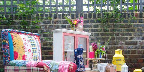 Flowerpot, Home accessories, Linens, Creative arts, Throw pillow, Cushion, Houseplant, Craft, Pillow, Pattern,