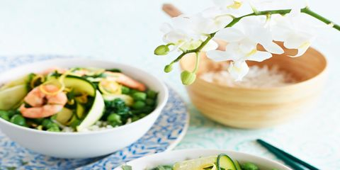 best courgette recipes courgette and prawn stir fry