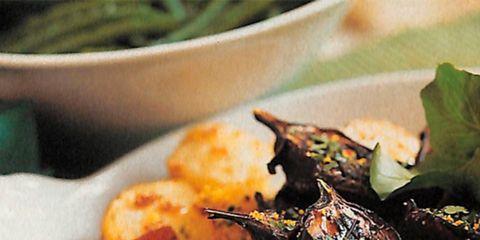 food, cuisine, root vegetable, ingredient, dish, dishware, produce, recipe, tableware, potato,
