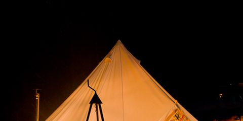 Tent, Natural environment, Camping, Night, Style, Tints and shades, Amber, Light, Orange, Sunlight,
